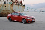 2017 BMW 2-Series M Coupe in Melbourne Red Metallic - Static Front Right Three-quarter View