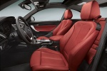 Picture of 2017 BMW 2-Series M Coupe Front Seats in Coral Red