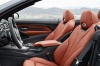2015 BMW M4 Convertible Front Seats in Coral Red