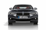 2015 BMW 435i Coupe in Mineral Gray Metallic - Static Frontal View