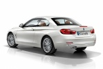 Picture of 2015 BMW 428i Convertible with top closed in Mineral White Metallic