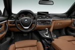 Picture of 2015 BMW 428i Convertible Cockpit in Saddle Brown