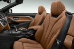Picture of 2015 BMW 428i Convertible Front Seats in Saddle Brown