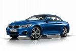Picture of 2015 BMW 435i Convertible with top closed in Estoril Blue Metallic
