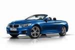 Picture of 2015 BMW 435i Convertible with open top in Estoril Blue Metallic