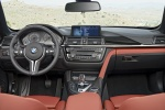 Picture of 2015 BMW M4 Convertible Cockpit in Coral Red