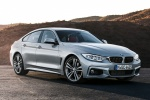 2015 BMW 435i Gran Coupe in Glacier Silver Metallic - Static Front Right Three-quarter View