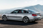 2015 BMW 435i Gran Coupe in Glacier Silver Metallic - Static Rear Left Three-quarter View