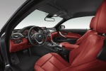 Picture of 2015 BMW 435i Coupe Front Seats in Coral Red