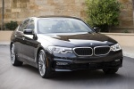 2018 BMW 530i Sedan in Black - Static Front Right View
