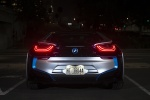 2015 BMW i8 Coupe in Ionic Silver Metallic - Static Rear View