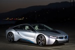 2015 BMW i8 Coupe in Ionic Silver Metallic - Static Front Right Three-quarter View