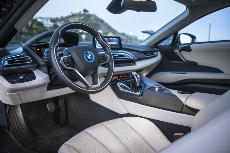 2017 BMW i8 Coupe Interior Picture