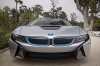 2017 BMW i8 Coupe in Ionic Silver Metallic from a frontal view