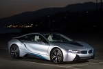 2017 BMW i8 Coupe in Ionic Silver Metallic - Static Front Right Three-quarter View