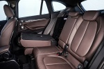 2018 BMW X1 xDrive28i Rear Seats Folded in Mocha