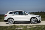 2018 BMW X1 xDrive28i in Alpine White - Driving Side View