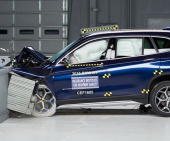 2019 BMW X1 IIHS Frontal Impact Crash Test Picture
