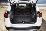 2019 BMW X1 xDrive28i Trunk with Rear Seats Folded in Mocha