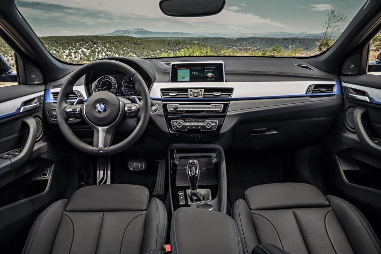 2018 BMW X2 Cockpit Picture