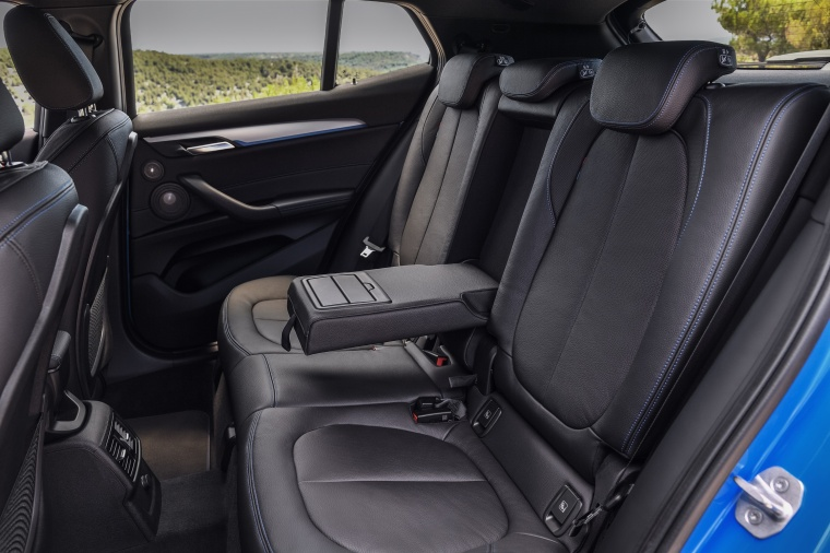 2018 BMW X2 Rear Seats Picture