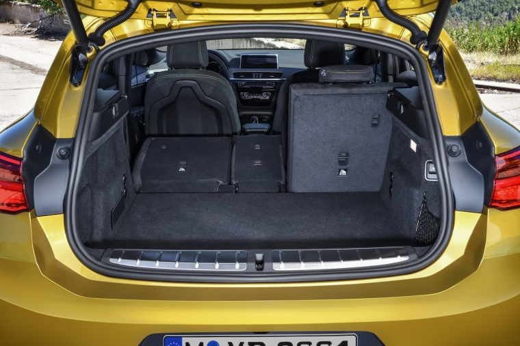 2018 BMW X2 Trunk with Seats Folded Picture