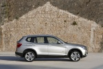 2014 BMW X3 xDrive35i in Mineral Silver Metallic - Static Right Side View