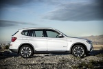 2015 BMW X3 in Mineral White Metallic - Static Side View