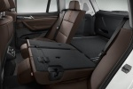 Picture of 2015 BMW X3 Rear Seats in Mocha