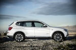 2016 BMW X3 in Mineral White Metallic - Static Side View