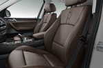 Picture of 2017 BMW X3 Front Seats in Mocha