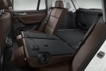 Picture of 2017 BMW X3 Rear Seats in Mocha