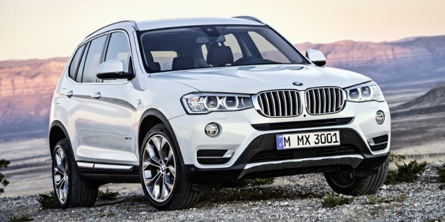 2017 BMW X3 Pictures