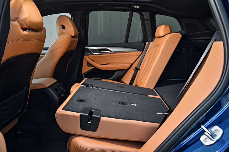 2018 BMW X3 M40i Rear Seats Folded Picture