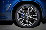 Picture of a 2018 BMW X3 M40i's Rim