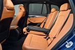 Picture of a 2018 BMW X3 M40i's Rear Seats in Cognac