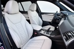 Picture of a 2018 BMW X3 M40i's Front Seats in Oyster