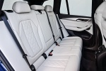 Picture of a 2018 BMW X3 M40i's Rear Seats in Oyster
