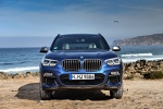 Picture of a 2019 BMW X3 M40i in Phytonic Blue Metallic from a frontal perspective