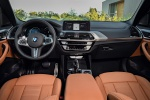 Picture of a 2019 BMW X3 M40i's Cockpit in Cognac