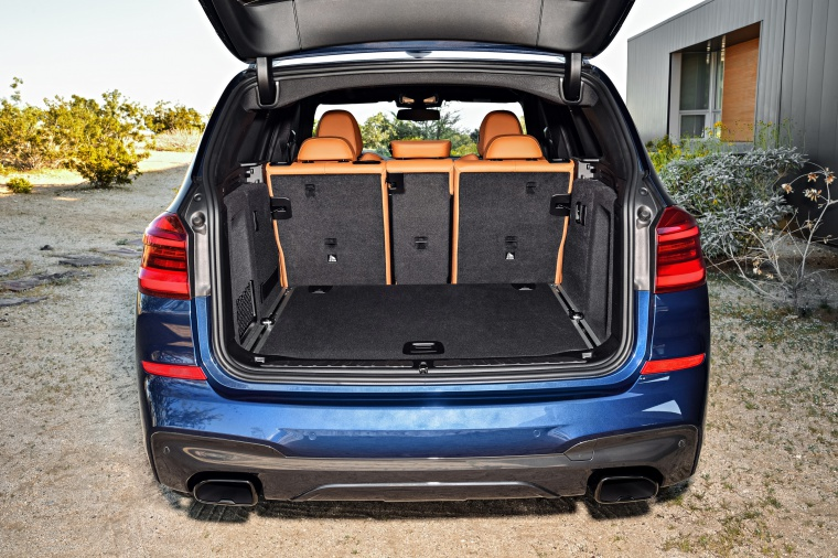 2020 BMW X3 M40i Trunk Picture
