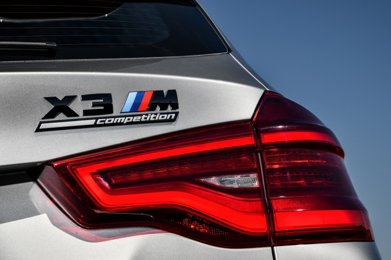 2020 BMW X3 M Competition Tail Light Picture