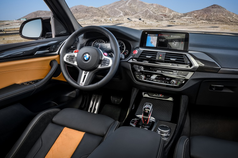 2020 BMW X3 M Competition Interior Picture
