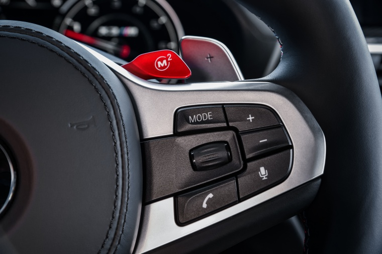 2020 BMW X3 M Competition Steering-wheel Controls Picture