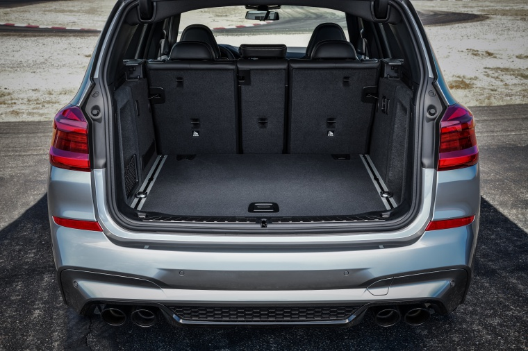 2020 BMW X3 M Competition Trunk Picture