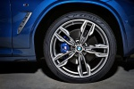 Picture of a 2020 BMW X3 M40i's Rim