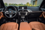 Picture of a 2020 BMW X3 M40i's Cockpit in Cognac