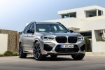 Picture of a 2020 BMW X3 M Competition in Donington Gray Metallic from a front right perspective