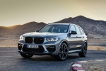 Picture of a 2020 BMW X3 M Competition in Donington Gray Metallic from a front left perspective