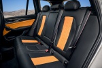 Picture of a 2020 BMW X3 M Competition's Rear Seats